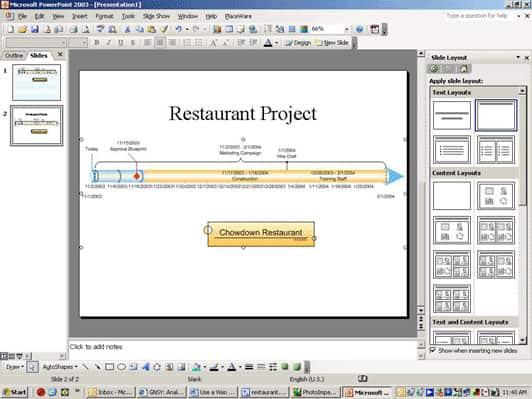 Visio in PowerPoint