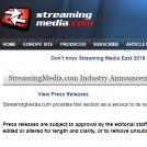 Sreaming Media