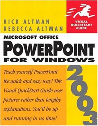 Visual Quickstart Guide Microsoft Office PowerPoint 2003