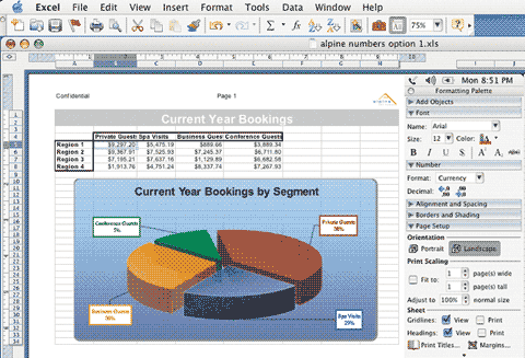 Excel 2004
