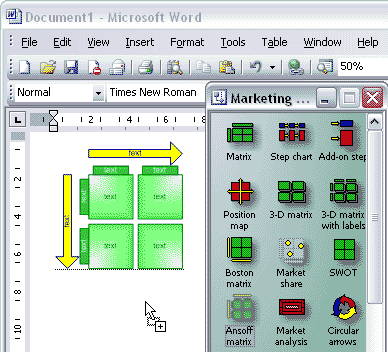 Visio and Word