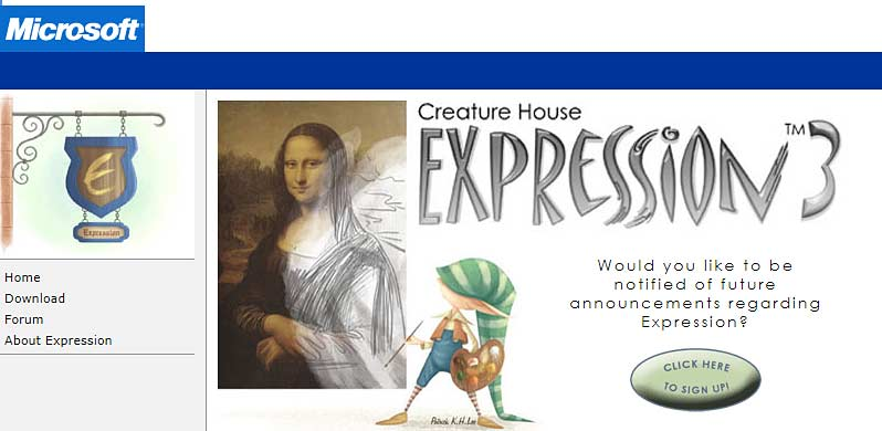 Microsoft Expression 3