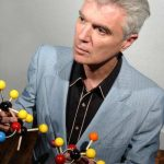 Just David Byrne and PowerPoint