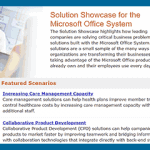 Solution Showcase for the Microsoft Office System