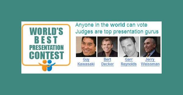 SlideShare World's Best Presentation Contest