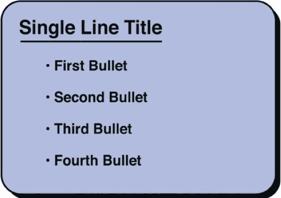 Effective bullet slide