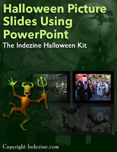 Indezine Halloween PowerPoint Kit