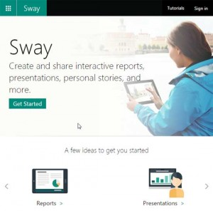 Getting Started with Microsoft Sway