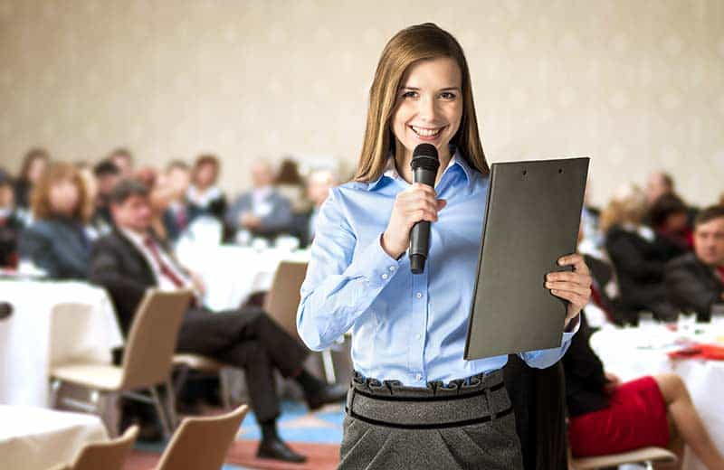 Public speaking needs practice
