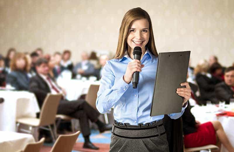 Public speaking needs practice