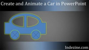 Create and Animate a Car in PowerPoint