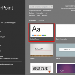Set Standard 4:3 Aspect Ratio as Default in PowerPoint 2016 for Windows