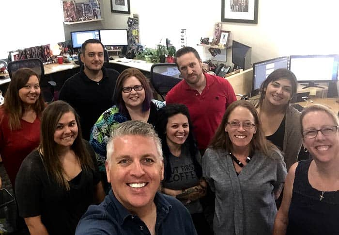 Troy with the TLC Design Team