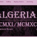 Explore Fonts: Algerian