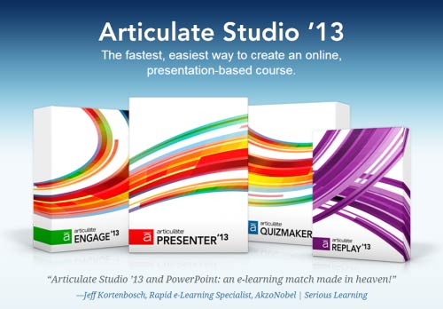 Articulate Studio '13 for PowerPoint and elearning