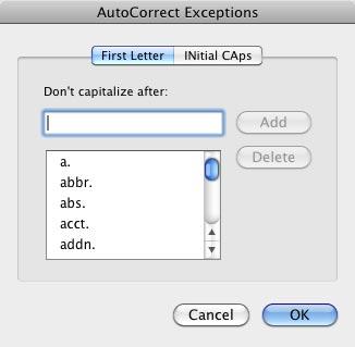 Set autocorrect options - lynda.com