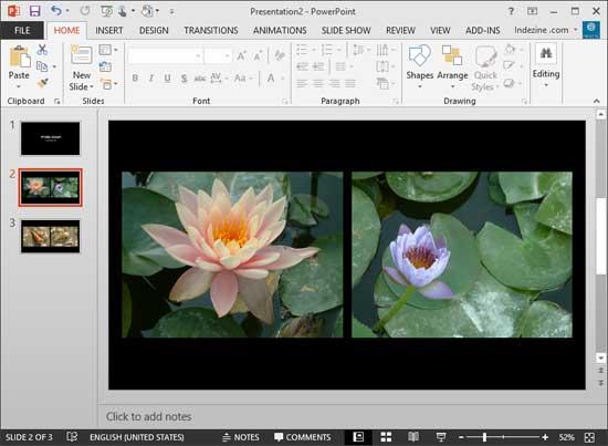 how to create photo album