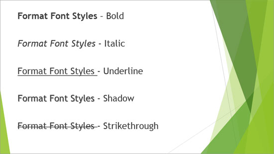 how to change font size in powerpoint all slides