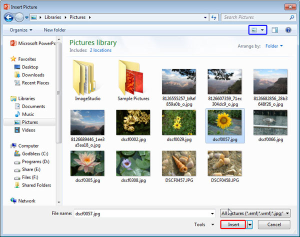 how to play slides on powerpoint 2013
