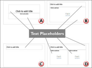 Text Placeholders vs. Text Boxes in PowerPoint 2016 for Windows