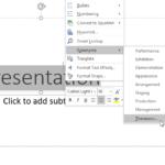 Thesaurus in PowerPoint 2016 for Windows