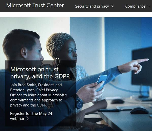 Trust Center in PowerPoint 2016 for Windows