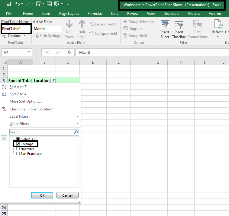 Pivot Tables Powerpoint Kasper Langmann on embed excel workbook