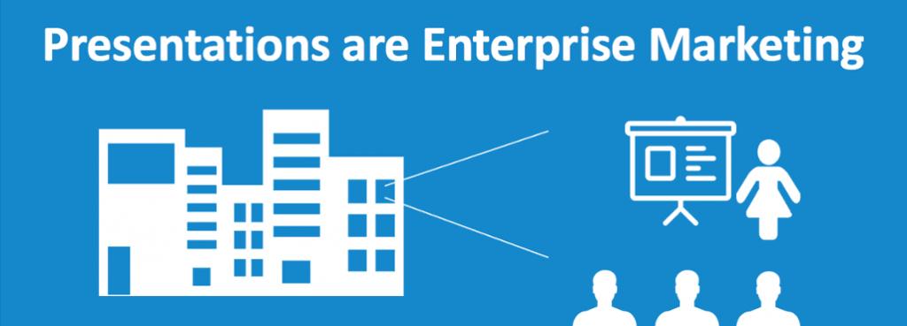 Presentations are Enterprise Marketing