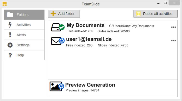 TeamSlide Engine