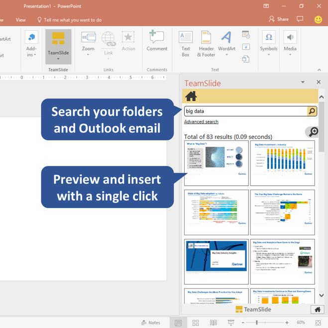 TeamSlide PowerPoint add-in