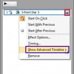 Learn PowerPoint 2010: Show/Hide the Animation Advanced Timeline