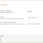 Insert Online Video (Movie) Clips in PowerPoint 2016 for Windows