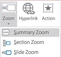 PowerPoint Zoom option
