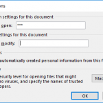 Remove and Change Passwords in PowerPoint 2016 for Windows