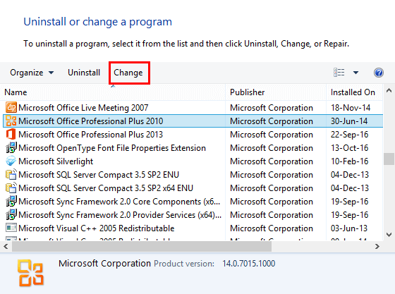 Set PowerPoint 2010 for Windows as the Default Version