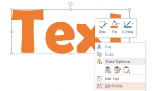 Convert Text to Outlines in PowerPoint with a Free Add-in