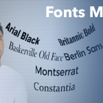 In PowerPoint, Fonts Matter