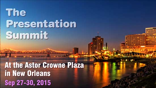 Presentation Summit 2015, New Orleans