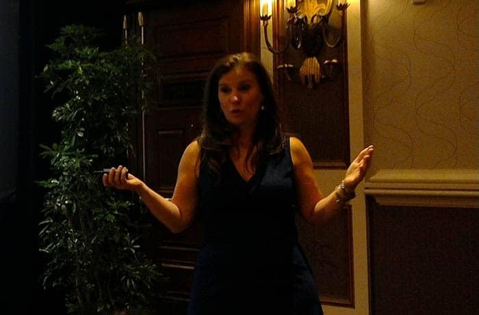 Nancy Duarte at the Presentation Summit 2016
