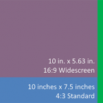 PowerPoint's implementation of the Widescreen aspect ratio has changed somewhat over the last few versions. Although this is a small change, it is important to understand what is happening behind the scenes.