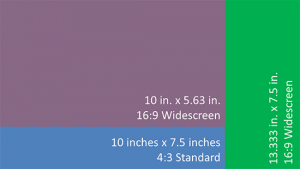 Widescreen Implementations in PowerPoint