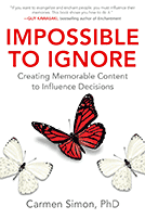 Impossible to Ignore by Carmen Simon