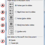 Create PowerPoint 2010 Handouts in Word 2010 for Windows