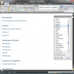 Creating PowerPoint Outlines in Microsoft Word 2007