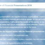 The State of Financial Presentations 2016: Conversation with Dave Paradi