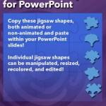 Jigsaw Shapes for PowerPoint (Full Slide Jigsaws)