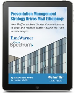 Presentation Management Strategy Drives M&A Efficiency - Case-Study