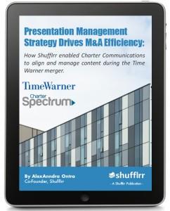 Presentation Management Strategy Drives M&A Efficiency - Case-Study