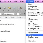 Creating PowerPoint Outlines in Microsoft Word 2008 for Mac