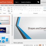 Editing View (Normal View) in PowerPoint Online